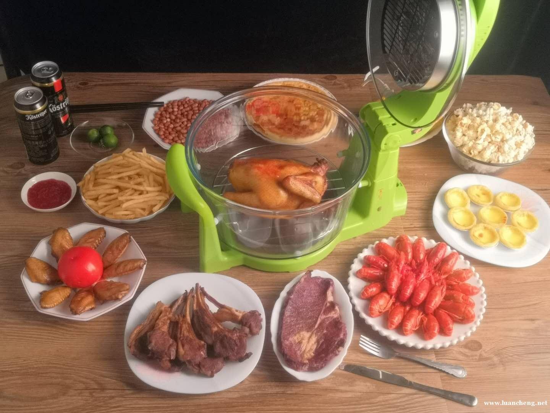 生活家空气炸锅,一机多用,制作一桌美味